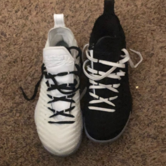 official photos 779d8 d4ece Lebron 13 black and white equality sneakers no box